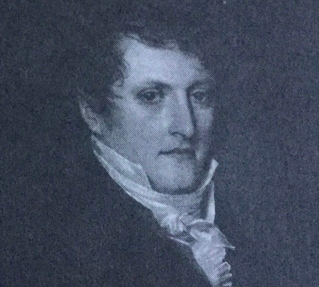 Manuel Belgrano, en una clásica pintura.