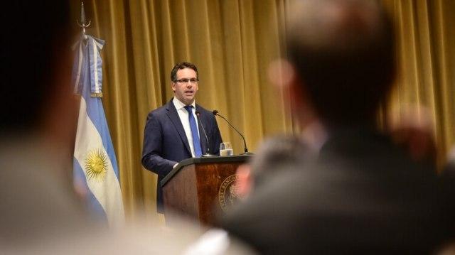 Guido Sandleris, presidente del Banco Central: la entidad consolidó una tasa promedio de 71,03% (Manuel Cortina)