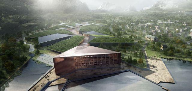 La planta de Kolos en Noruega, de 600 mil metros cuadrados.
