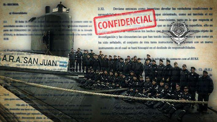 Los Papeles secretos del ARA San Juan - Imagenes Portada