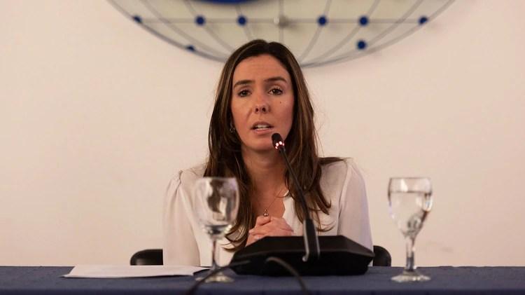 La embajadora de Guaidó, Elisa Trotta, esta haciendo gestiones para que ingrese la ayuda de Argentina (Adrián Escandar)