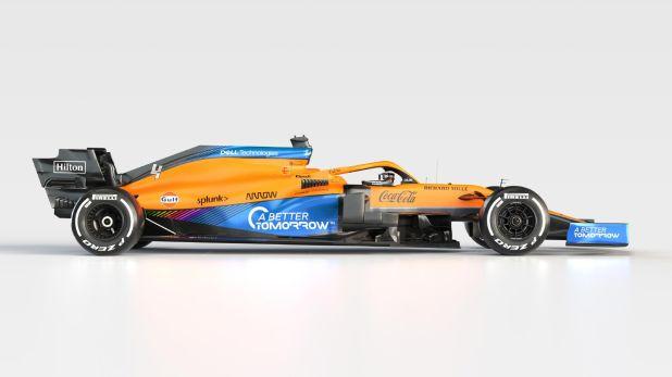 McLaren presentó su nuevo auto para la F1 2021