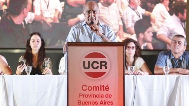 Daniel Salvador, vicegobernador bonaerense y presidente de la UCR de Buenos Aires
