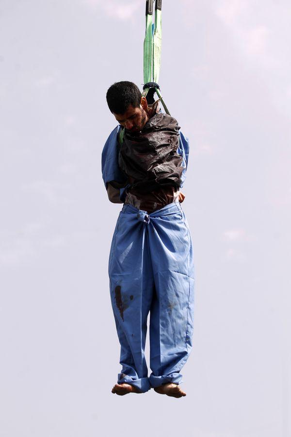 """El juez Rajeh Ezzedine espera que la ejecución sea un """"disuasivo para los criminales"""" (AFP)"""
