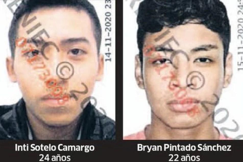 Inti Sotelo y Bryan Pintado