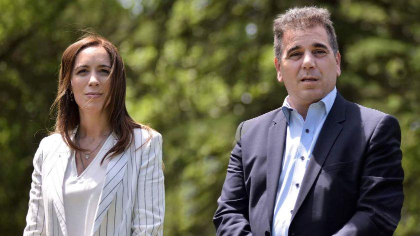 María Eugenia Vidal y Cristian Ritondo