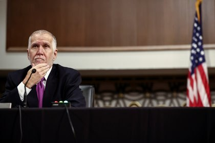 El senador republicano Thom Tillis. REUTERS/Hannah McKay/Pool