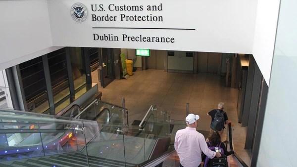 La oficina de la CBP en Dublín