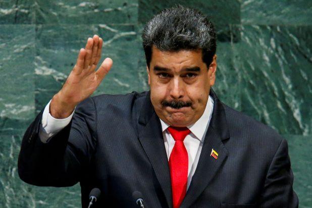 Nicolás Maduro cuando habló ante las Naciones Unidas (REUTERS)