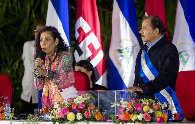 La esposa de Ortega y vicepresidente del país, Rosario Murillo, es una pieza clave en el dispositivo de persecusión de opositores y represión de la disidencia.