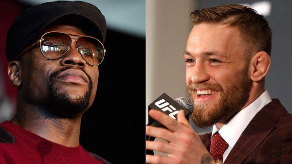 Los rumores de una pelea entre Maywetaher y McGregor son cada vez mayores (Getty)