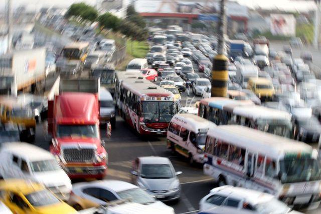 Tráfico en Lima