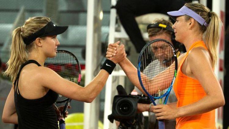Sharapova perdió en semifinales de Stuttgart ante Eugéine Bouchard (Reuters)