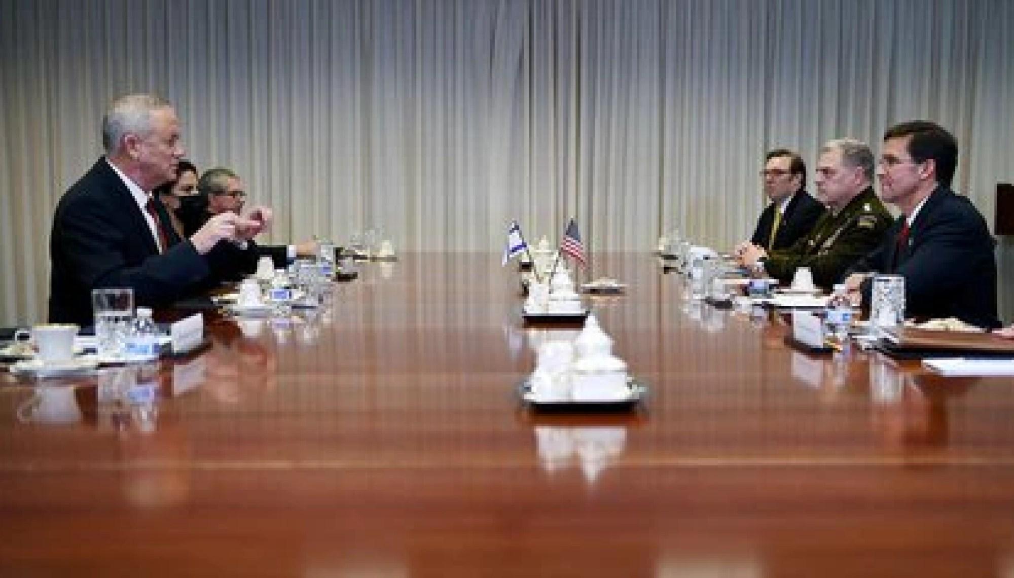 La reunión de los titulares de Defensa (AFP)