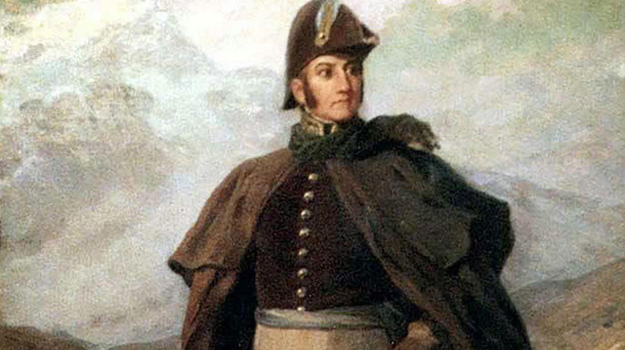 Prócer nacional y fanático del helado... José de San Martín.
