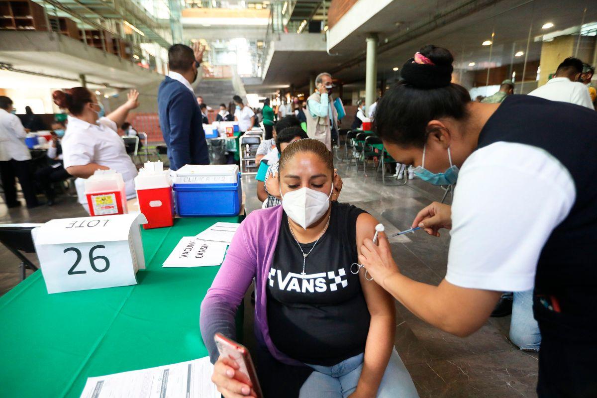 Hasta el día de hoy, 36,164,011 dosis han sido aplicadas en el país  (Foto: Sáshenka Gutiérrez/EFE)