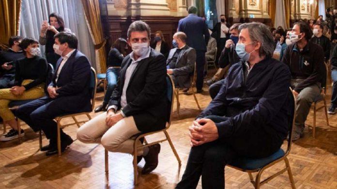 Sergio Massa y Máximo Kirchner