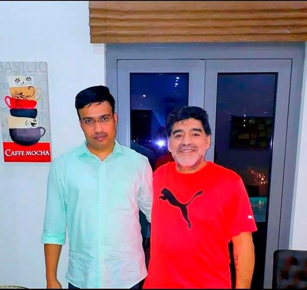Sulaiman, el chofer de Maradona en Dubai
