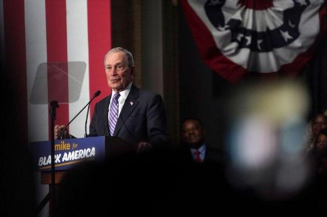 Bloomberg ha donado miles de millones de dólares a campañas benéficas y políticas a lo largo de su carrera (Reuters)