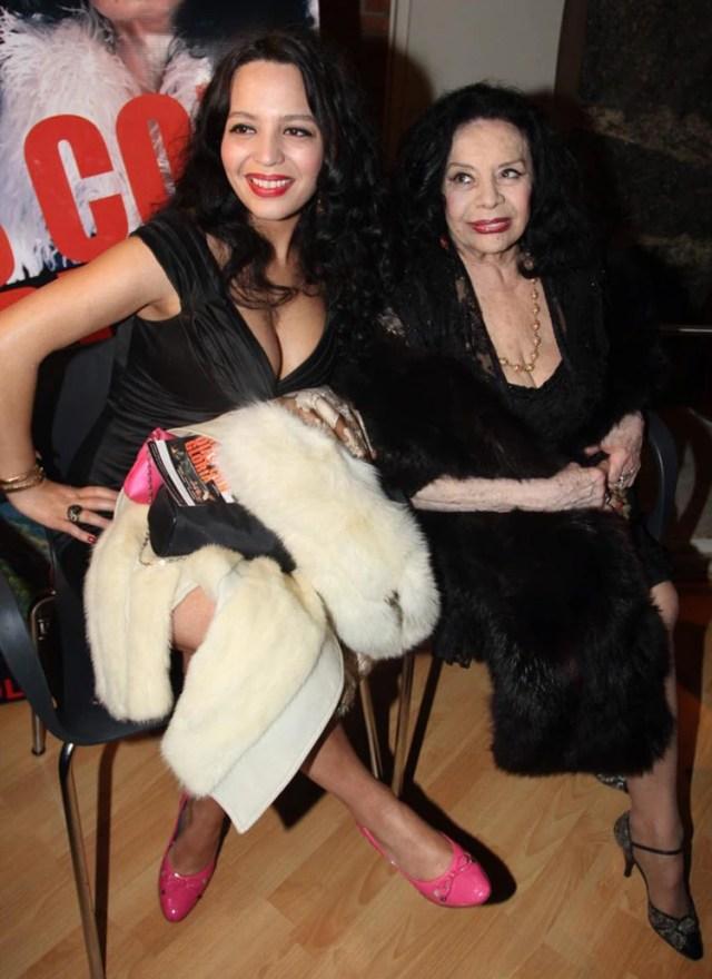 La Coca Sarli con su hija, Isabelita