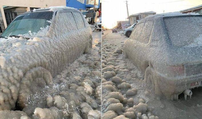 auto congelado