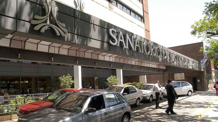 La clínica donde murió Pérez Volpin el 6 de febrero pasado