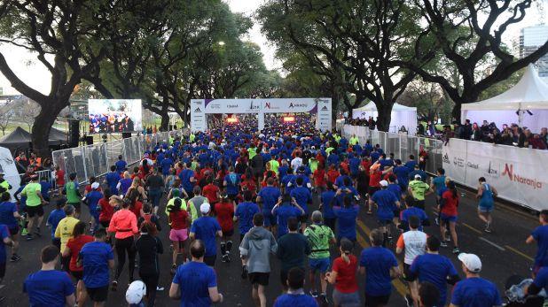 Más de 20 mil personas se inscribieron para participar en la media maratón de Buenos Aires