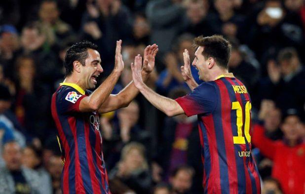 Xavi considera a Messi como el mejor futbolista de a historia (Reuters)