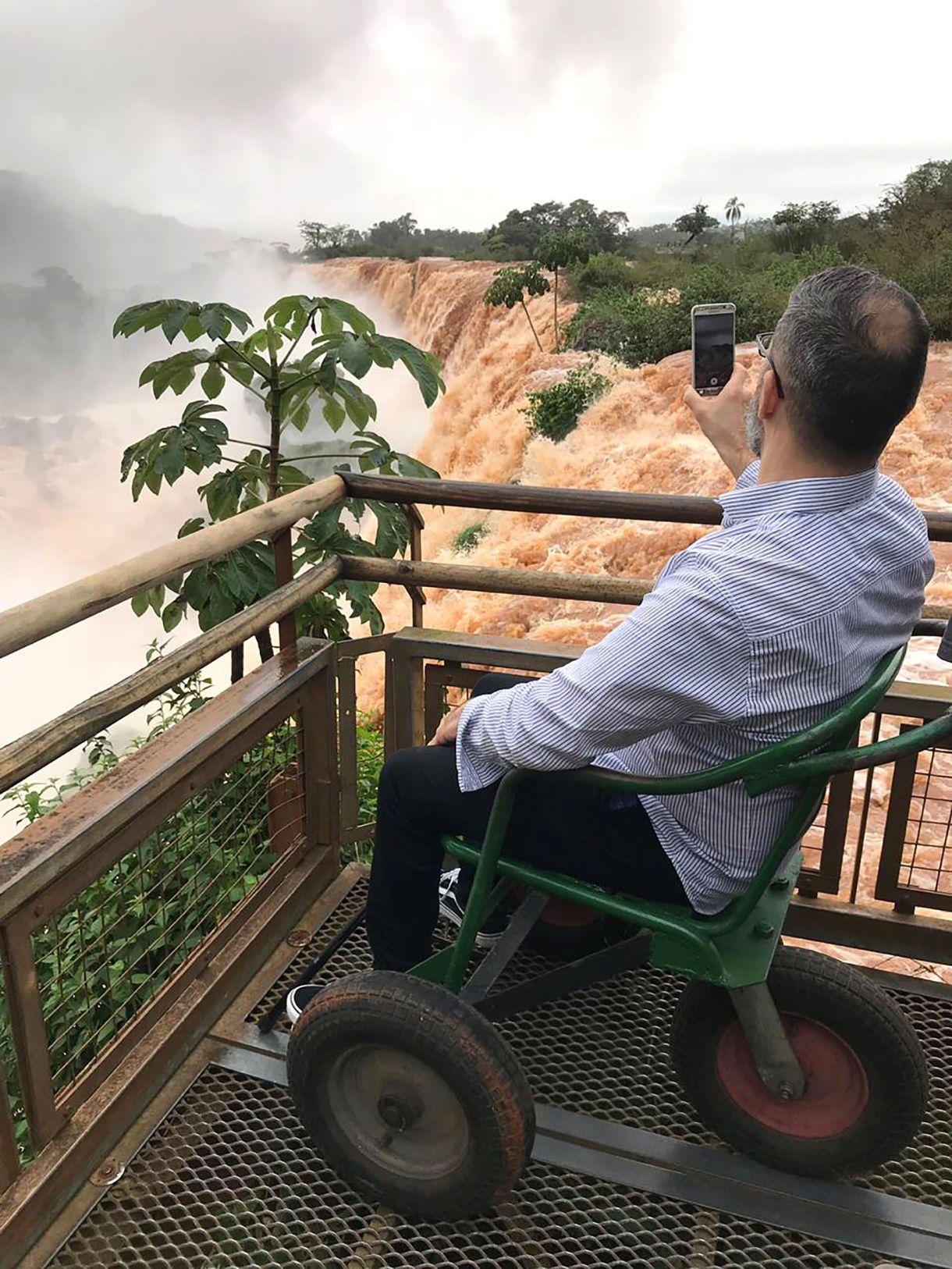 El Parque Iguazú se puede disfrutar y recorrer prácticamente en un 90% con condiciones de accesibilidad para todas las discapacidades