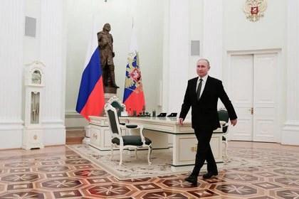 Vladimir Putin (Sputnik/Mikhail Metzel/Kremlin vía REUTERS)