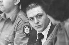 Puch durante el juicio en el que fue condenado a perpetua