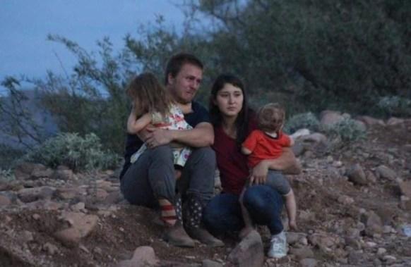 Familiares de los LeBarón, quienes fueron atacados y asesinados por grupos de la delincuencia (Foto: Twitter/l4nd3t4)