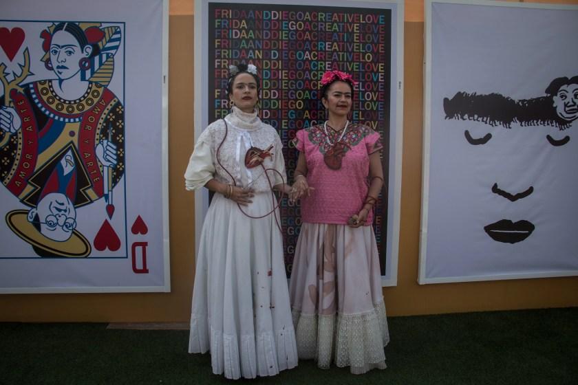 Esta exposición cuenta con obras nacionales e internacionales (FOTO: ANDREA MURCIA /CUARTOSCURO)