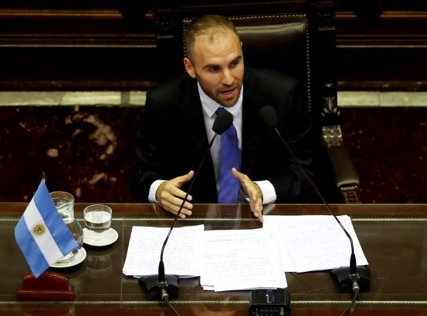 Guzmán adelantó en el Congreso que este año no hay margen para llevar adelante un ajuste fiscal, aunque el Gobierno aumentó los impuestos