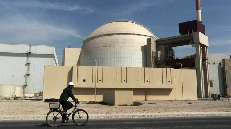 El reactor nuclear en Busheh, Irán