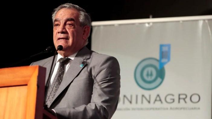 Carlos Iannizzotto, presidente de Coninagro (Gustavo Ortiz)