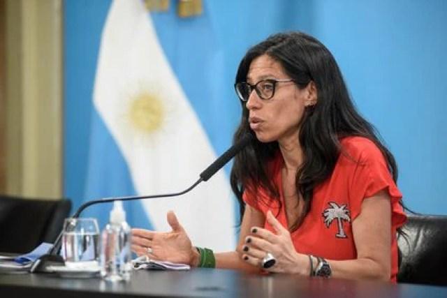 La secretaria de Comercio Interior, Paula Español
