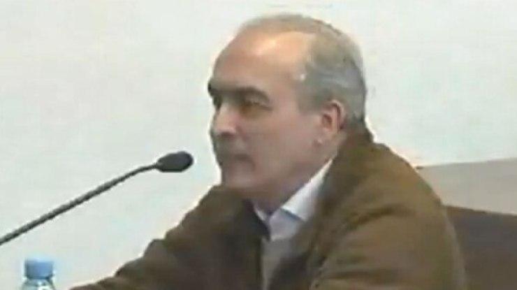 López declaró durante 50 minutos y sólo respondió preguntas de su defensa