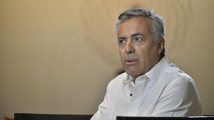 El presidente de la UCR, Alfredo Cornejo, confirmó sus intenciones de ser candidato a presidente. (Gustavo Gavotti)