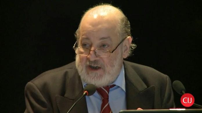 El juez federal Claudio Bonadio,fallecido en febrero de 2020