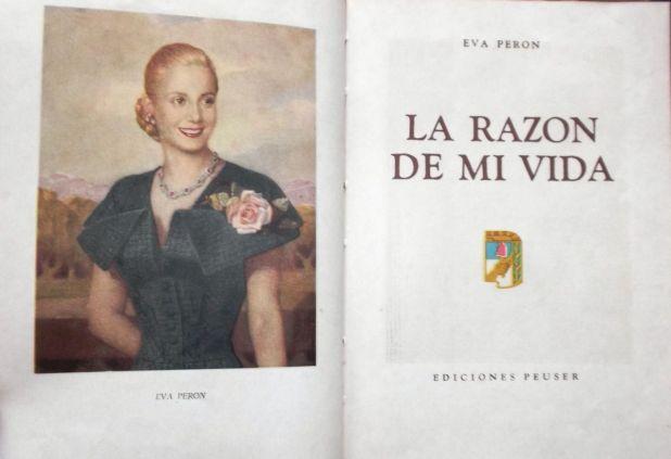 """La foto de portada del libro """"La razón de mi vida"""", que inspiró la cara sur del mural del MOP"""