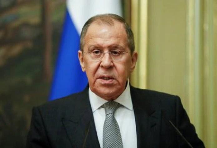 The head of Russian diplomacy, Sergei Lavrov.  Photo by Yuri Kochetkov / Pool via REUTERS