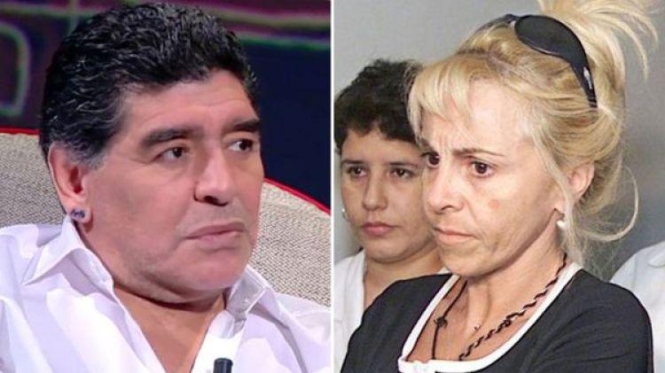 """Diego Maradona: """"No descarto que Claudia Villafañe vaya presa"""""""