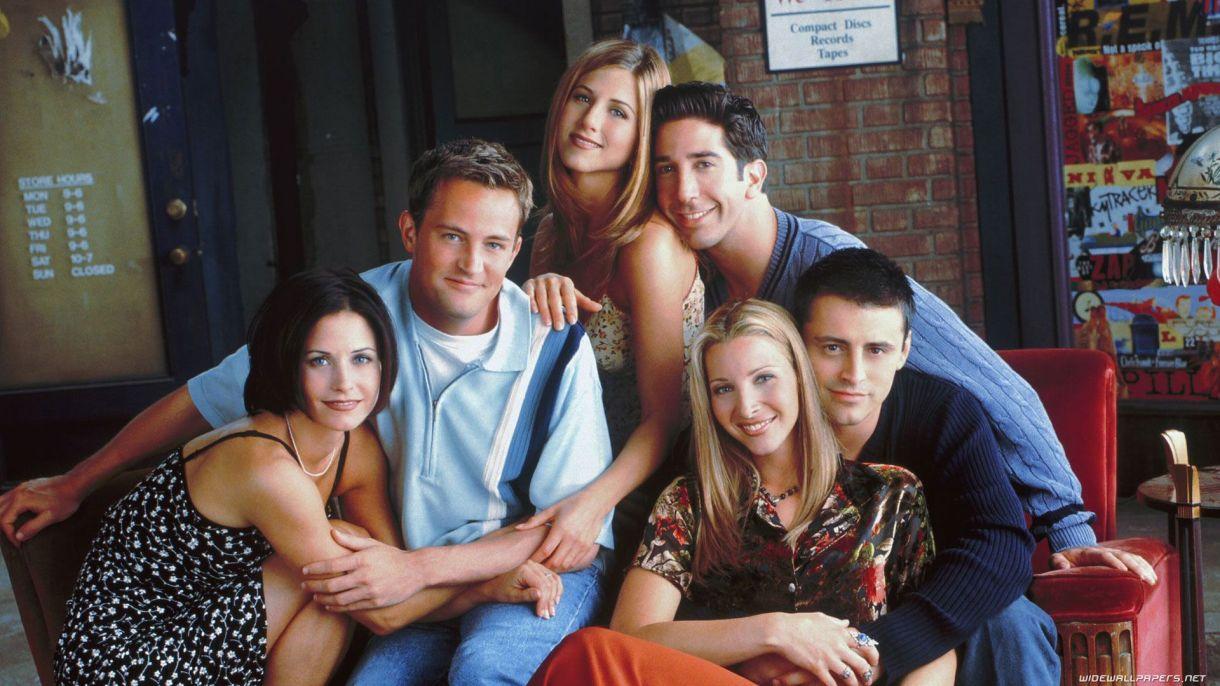 """La serie """"Friends"""" estuvo al aire durante 10 años"""