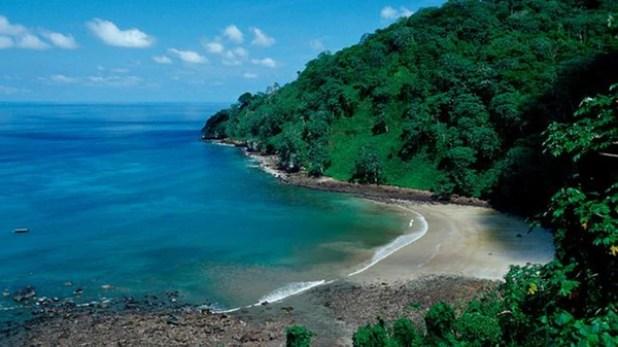 Parque Nacional Isla de Cocos, en el Pacífico costarricense
