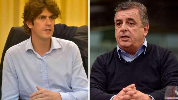 partida Martín Lousteau y Mario Negri