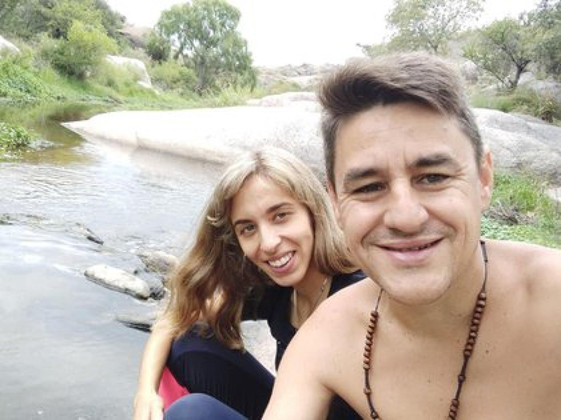 Unos días antes del accidente, Verónica y Javier habían regresado de sus vacaciones en las sierras cordobesas (Fotos: Facebook)