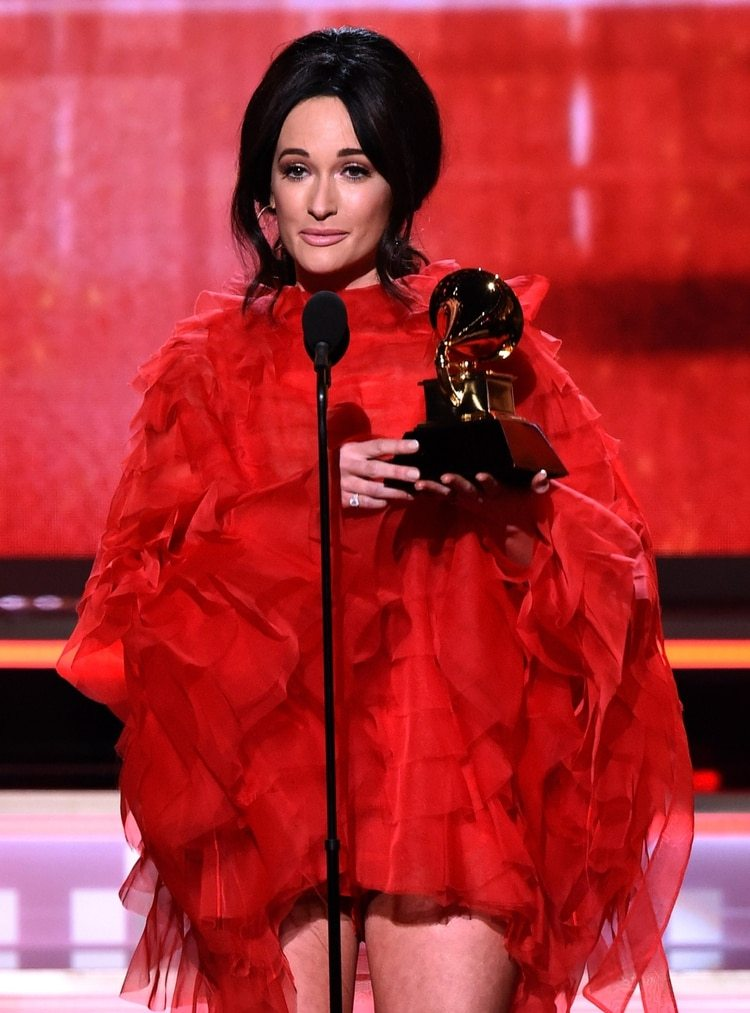 Kacey Musgraves ( Kevin Winter/Getty Images para The Recording Academy/AFP)