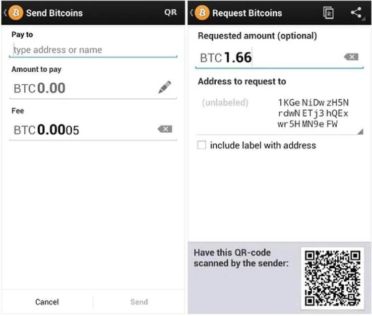 Los monederos se pueden usar para almacenar y pagar servicios o productos con bitcoins (Bitcoin.org)