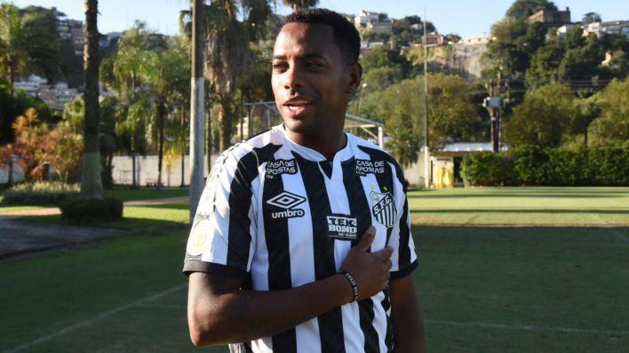 Robinho vuelve al Santos